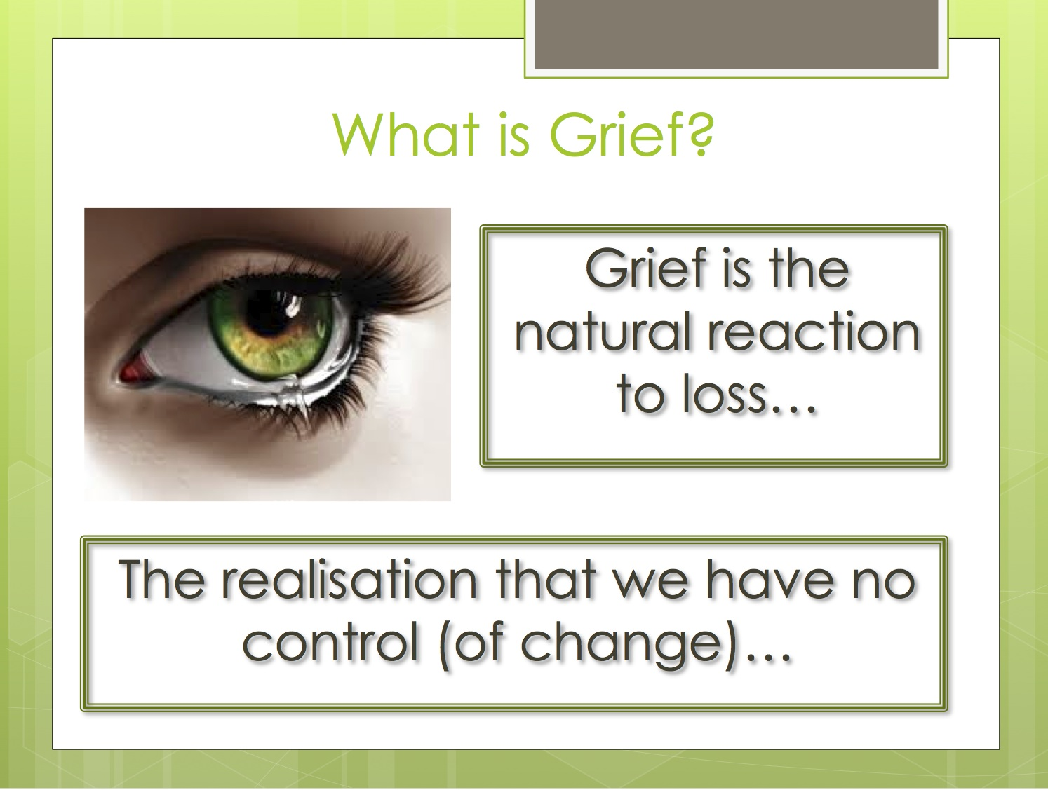 grief blogs semi related love