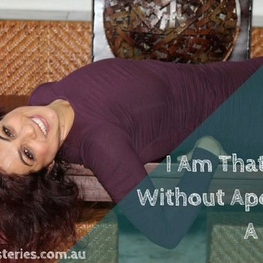 I Am That I Am: Without Apology. A poem.
