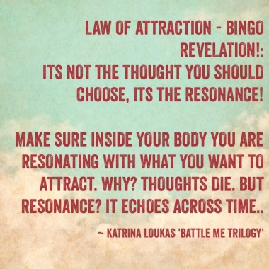 Law of Attraction: Bingo Revelation!