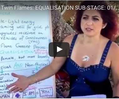 Illumined Twin Flames: EQUALISATION SUB-STAGE: 01/16 Transmission Part 2