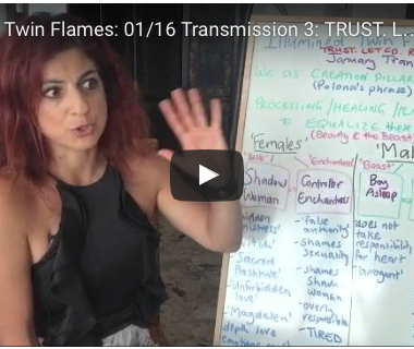 Illumined Twin Flames: 01/16 Transmission 3: TRUST. LET GO. RISE UP.